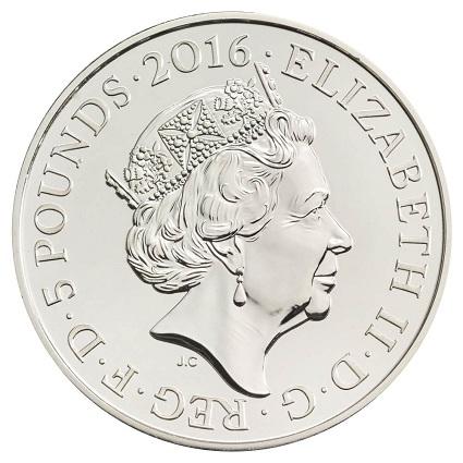 UK 2016 £5 90th birthday aOBSmall