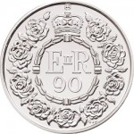 UK Unveils Crown Coin for 90th Birthday of Queen Elizabeth II