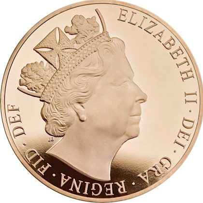 UK 2016 £5 gold aSmall