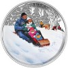 """Canada Features """"Winter Fun"""" on Festive New Silver Coin"""