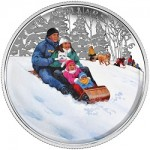 "Canada Features ""Winter Fun"" on Festive New Silver Coin"