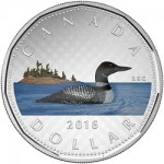 "Latest in Canada's ""Big coin Series"" Features Loon Dollar in Color"