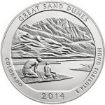 U.S. Mint Sales Report: Great Sand Dunes 5 oz. Unc. Coin Sells Out