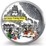 Perth Mint Issues Classic Disney Holiday Silver Proof Coin