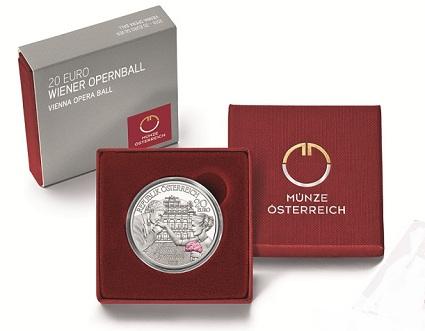 Austria 2016 20 euro Opera Ball pakSMALL
