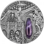 Niue Island Releases Belvedere Vienna High Relief Silver Coin with Amethyst