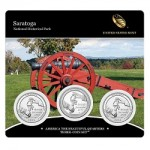Now Available: 2015 Saratoga National Historical Park 3-Coin Set