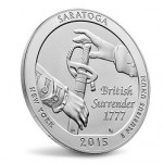 Now Available: 2015 Saratoga 5 oz. Uncirculated Coin (Updated)