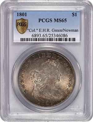 1801 $1 Newman (Custom)SMALL