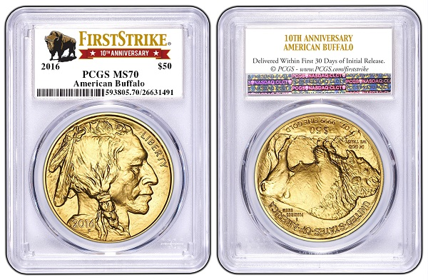 2016 gold Buffalo First StrikeSMALL