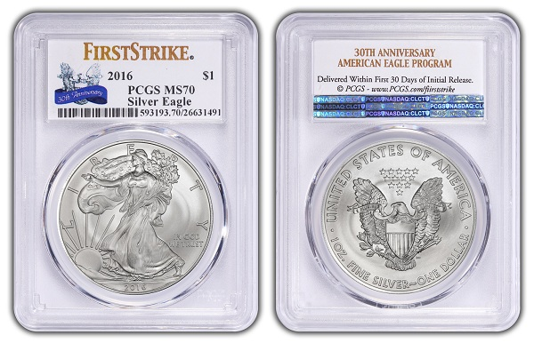 2016 silver American Eagle First StrikeSMALL