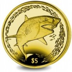 British Virgin Islands Features Lemon Shark on Innovative Yellow Titanium Coin