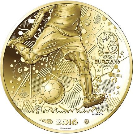 France 2016 UEFA €100 aSMALL