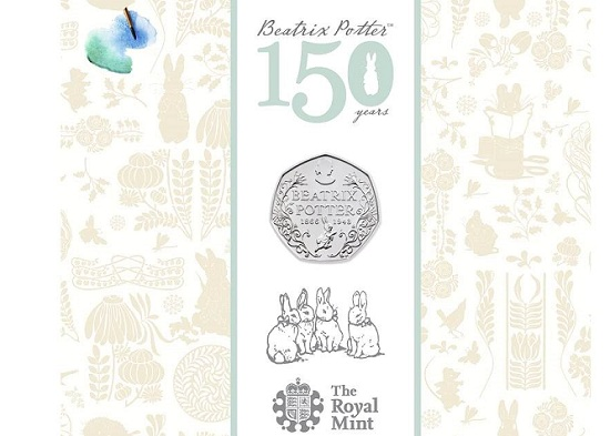 UK 2016 50 p Potter BU cSMALL