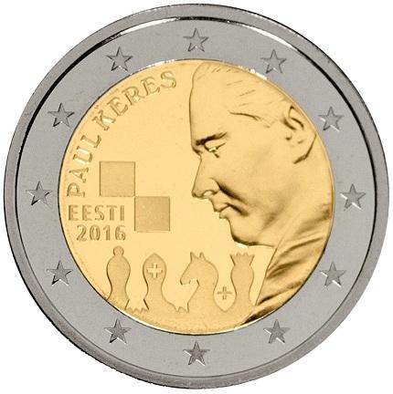 estonia 2016 €2 Keres aSMALL