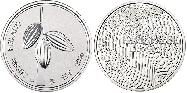 finland 2016 €10 fazer bBOTH