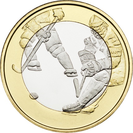 finland 2016 hockey sports 5€ aSMALL