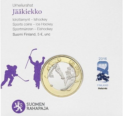 finland 2016 hockey sports 5€ cSMALL