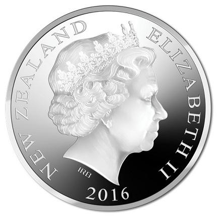 new zealand 2016 $1 RSA aSMALL