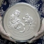 Perth Mint To Release 10 Kilo Year of the Monkey Silver Coin