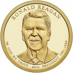 2016 Ronald Reagan Dollar Images, Nancy Reagan First Spouse Designs