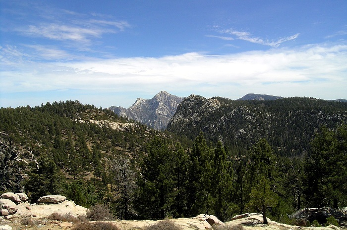 Sierra de San Pedro Martir, with Picacho del Diablo in the center CC Jaime Sanchez DiazSMALL