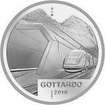 Switzerland Issues Silver Coins Ahead of Gotthard Tunnel Completion