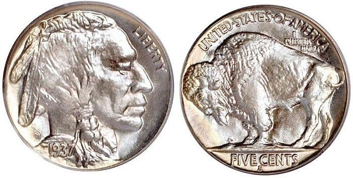 type-ii-buffalo-nickel 1937SMALL