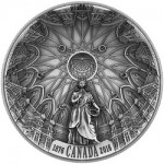 Royal Canadian Mint Issues First Concave-Shaped Coin in Honor of Parliament Library