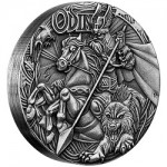 "Perth Mint Issues Norse Gods ""Odin"" 2 oz. Silver High Relief Coin"