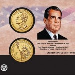 New at the Mint: 2016 Richard M. Nixon $1 Coin Cover