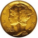 2016 Mercury Dime Centennial Gold Coin Gets Release Date