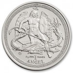 Isle of Man Issues Silver Angel Bullion Coins