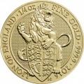 UK 2016 £25 gold Beasts bTINY