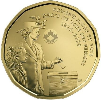 canada 2016 $1 womens vote anniv bSMALL