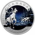 canada 2016 $20 digital caribou bTINY