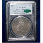 London Hosts Exhibition of Rare 1794 Flowing Hair Silver Dollar