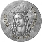 "New ""Women of France"" Coin Series Launches with Queen Clotilde"