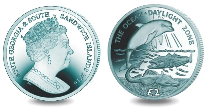 south georgia 2016 £2 titan daylight pairSMALL