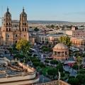 1024px-Panoramica_plaza_de_armas_Durango CC OTINY