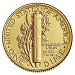 Gold Mercury Dime Nearly Sold Out (Updated)