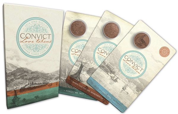 310935_M_Packaging of the 2016 one dollar Copper Uncirculated Coin set Convict Love Token_1SMALL