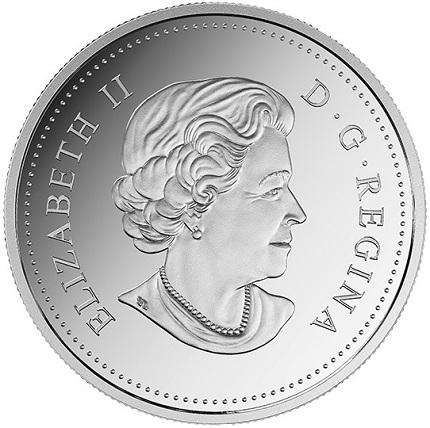 canada 2016 $1 birthday coin aSMALL