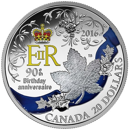 canada 2016 $1 birthday coin bSMALL