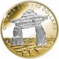 canada 2016 $10 inukshuk bbTINY