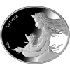 """The Hedgehog's Coat"" Appears on Latvia's Latest Fairy-Tale Silver Coin"