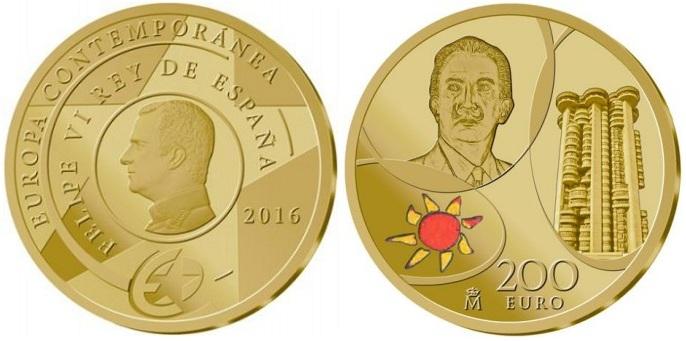 spain 2016 €200 europa aBOTH