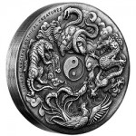 Perth Mint Releases Chinese Ancient Mythical Creatures 2 oz. Silver High Relief Coin