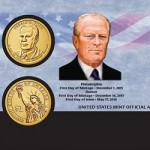 Now Available: 2016 Gerald R. Ford One Dollar Coin Cover