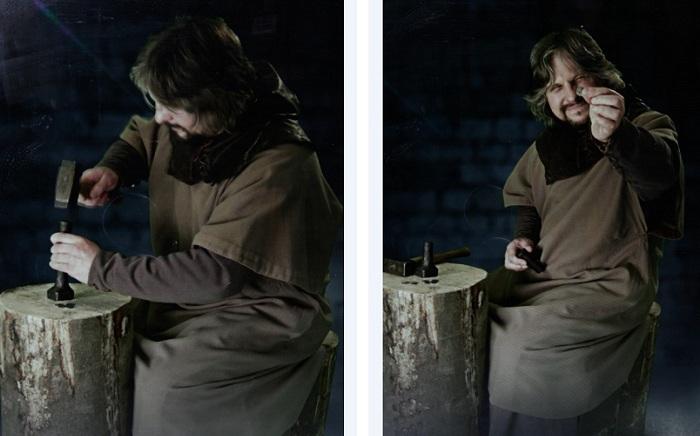 BMvideo demonstrates medieval hanSMALL